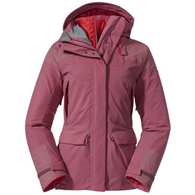 Schöffel Kungsleden 3in1 Parka Women, red moscato